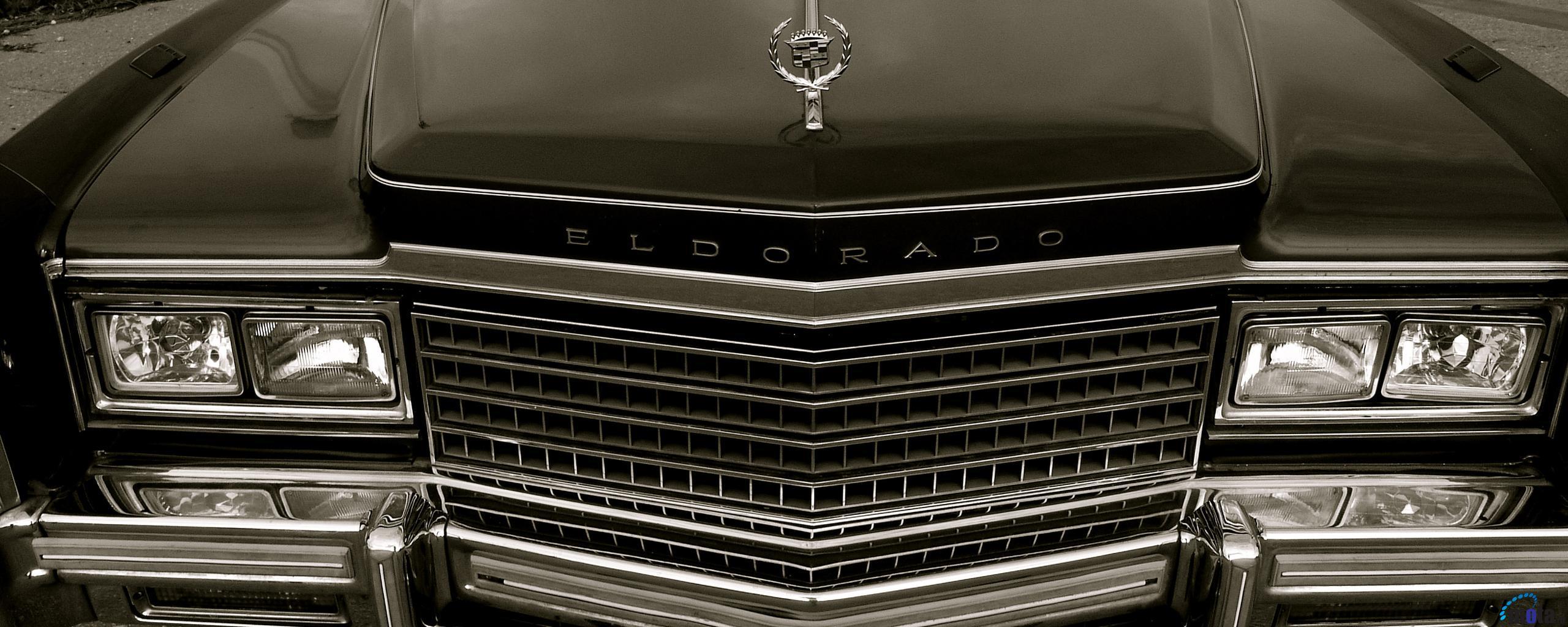 Wallpaper Luxury Car Cadillac Eldorado 2560 x 1024 Dual Monitor 2560x1024