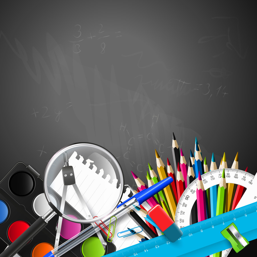 Back To School Background Black png download   50005000 900x900