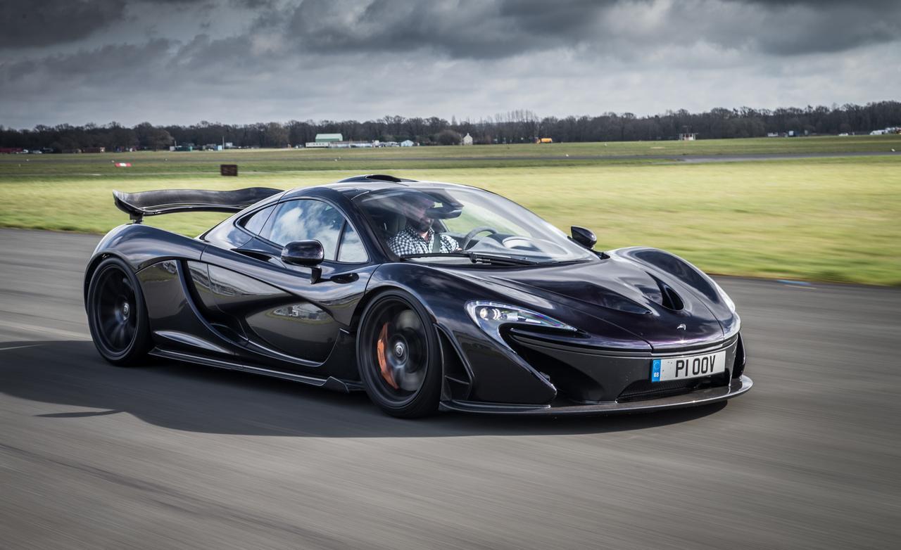 McLaren P1 Wallpaper Black
