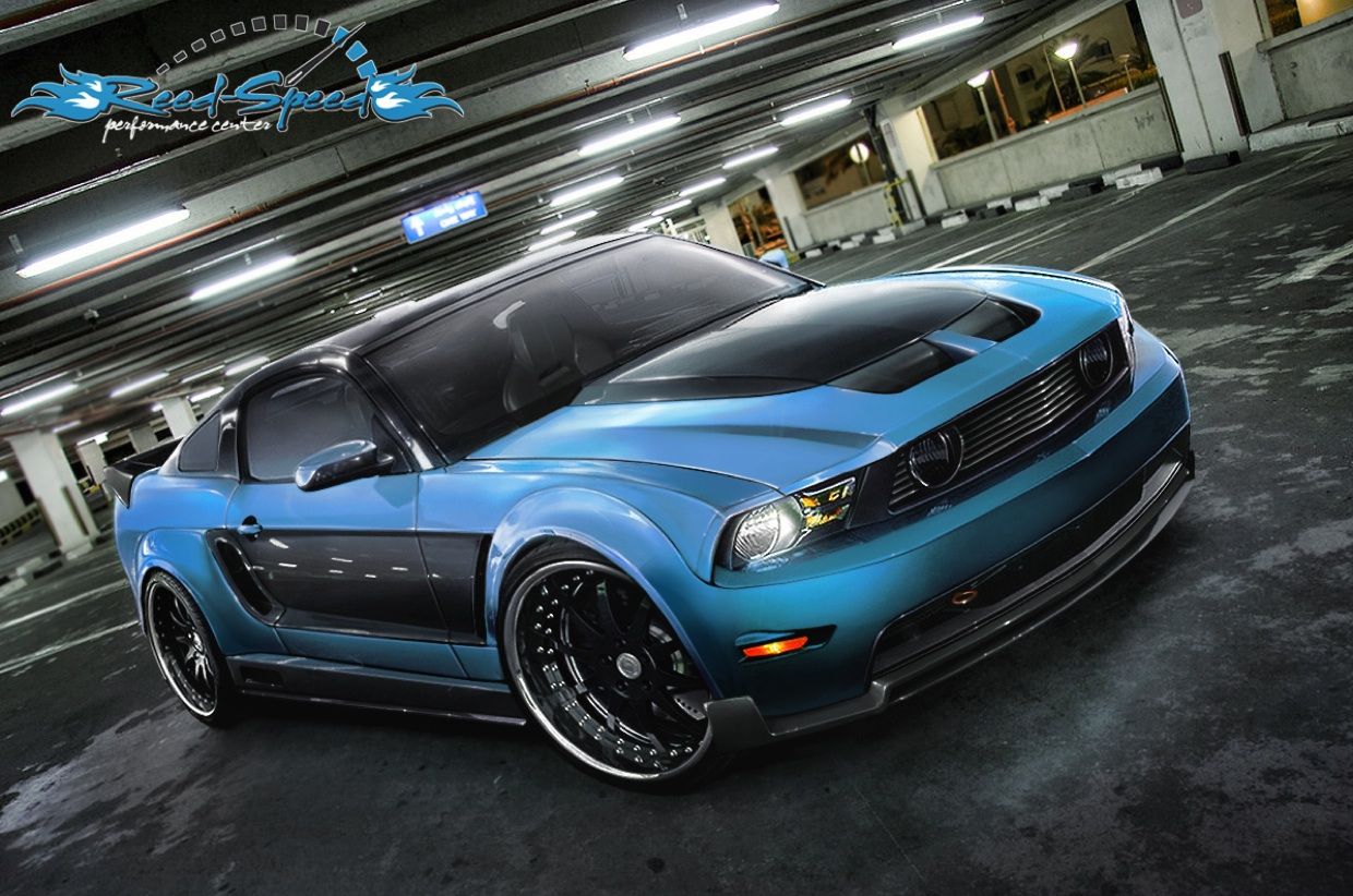 2009 Ford Mustang GT Exclusive HD Wallpapers 1371 1240x822