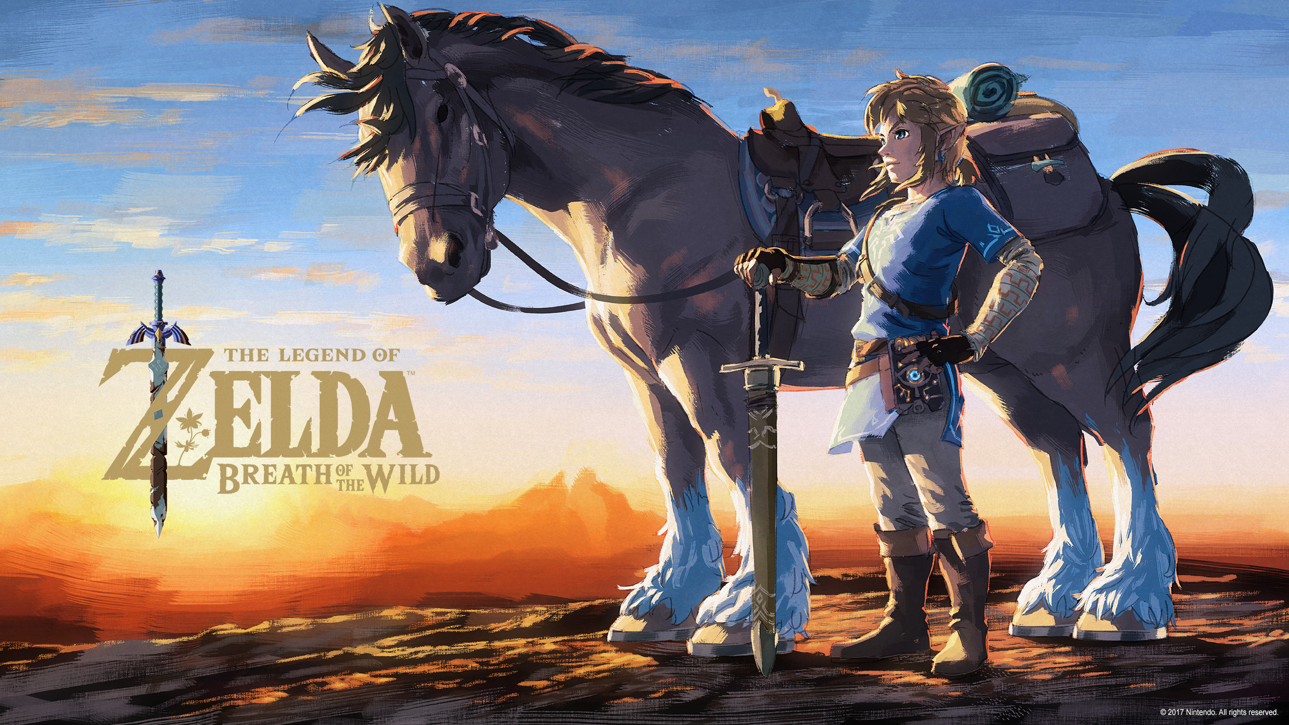 The Legend of Zelda Breath of the Wild for the Nintendo Switch 2560x1440