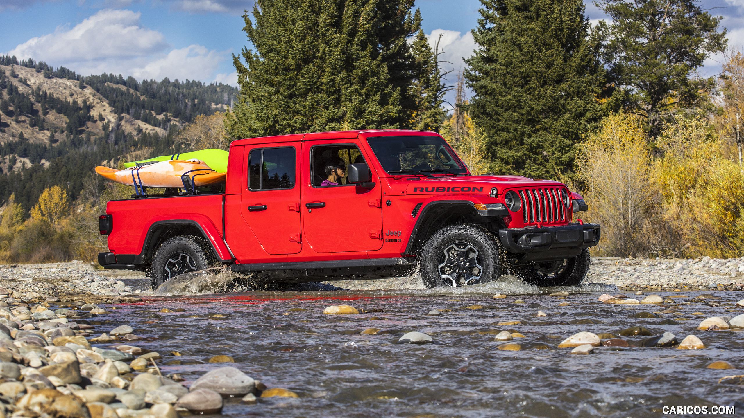 2020 Jeep Gladiator Rubicon   Off Road HD Wallpaper 33 2560x1440