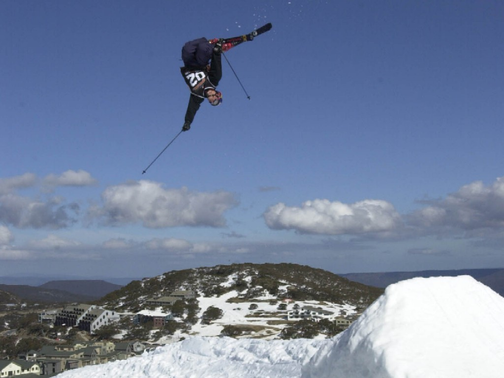 We change these regularly so from snowboard wallpaper to skiing 1024x768
