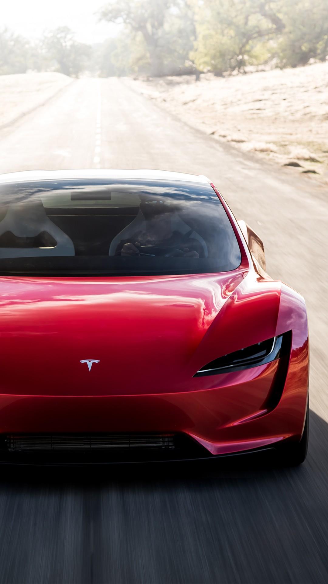 Download New Tesla Roadster Wallpaper Widescreen a8R 1080x1920