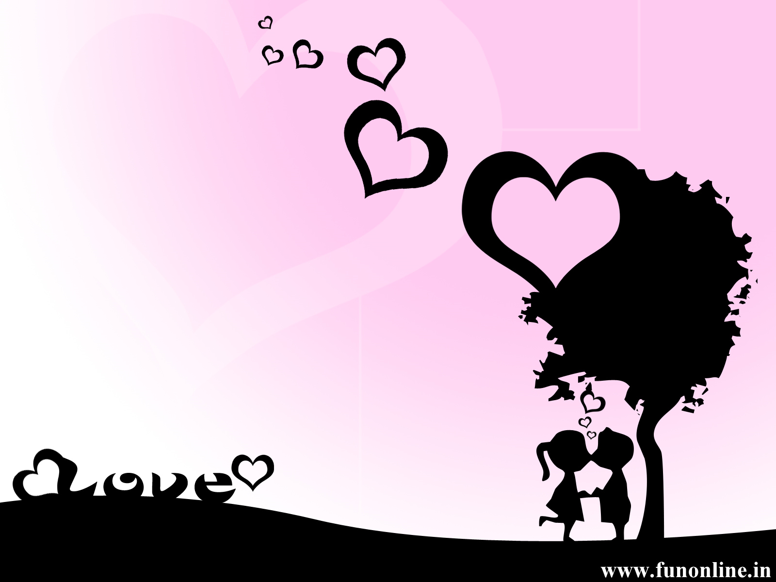Romantic and Cute Love Wallpaper