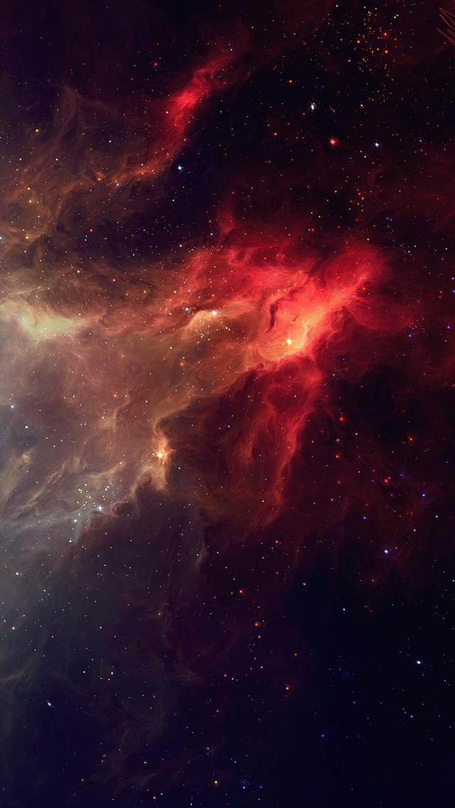 Smoky Fire Galaxy iPhone 5s Wallpaper Download iPhone Wallpapers 640x1136