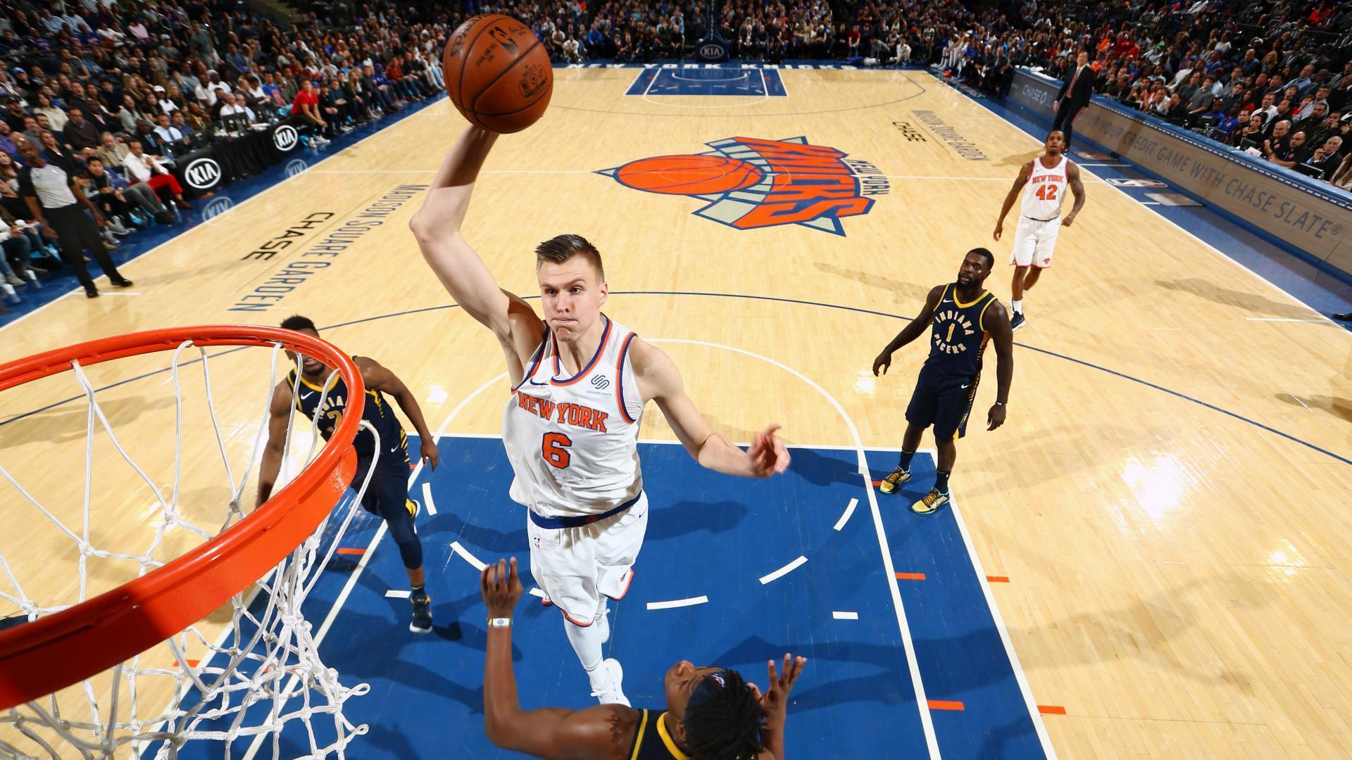 Kristaps Porzingis off to historic start for New York Knicks NBAcom 1920x1080