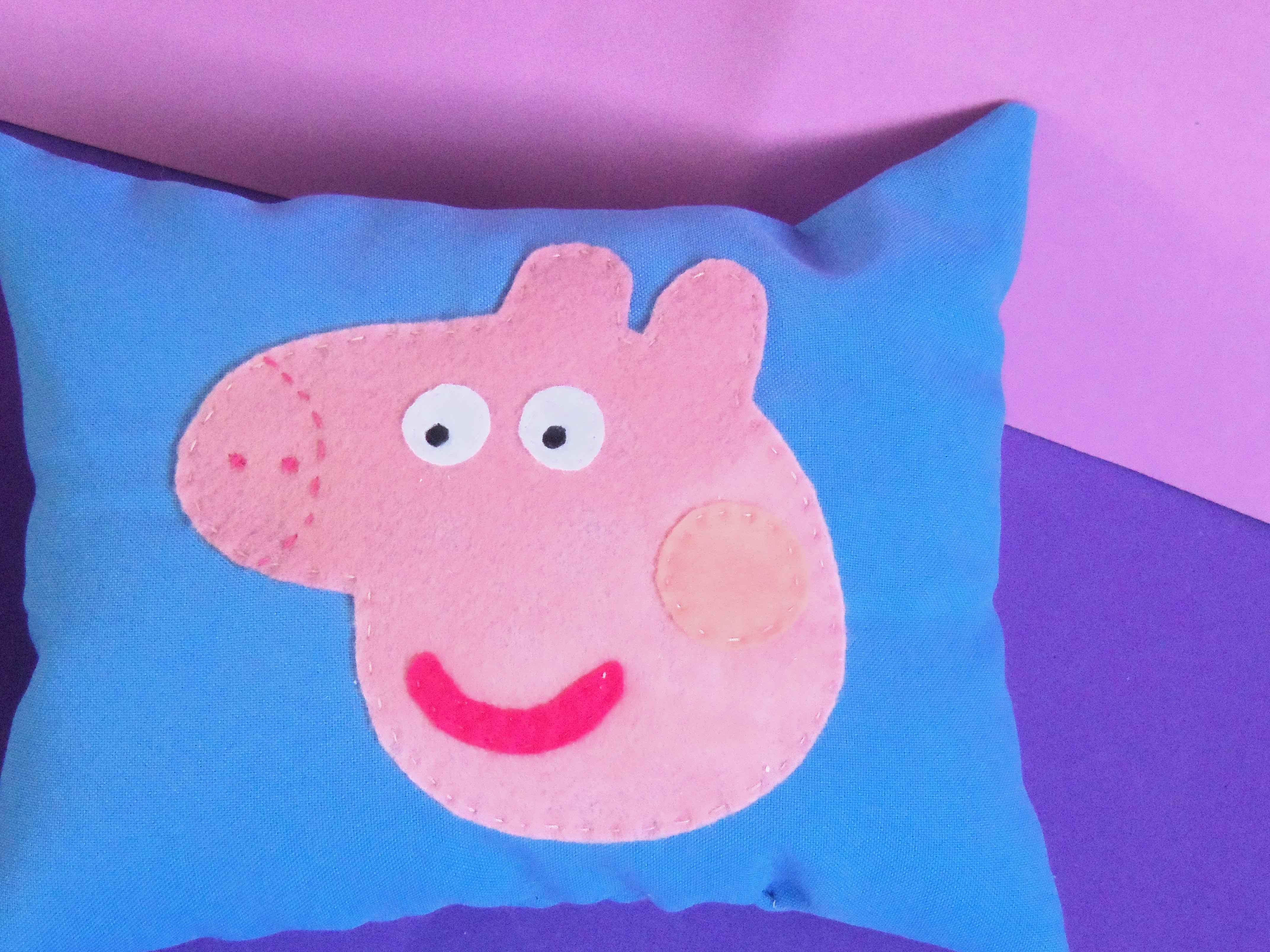 Peppa Pig Almofada Almofada Naninha Da Peppa Pig Peppa Almofada 4288x3216