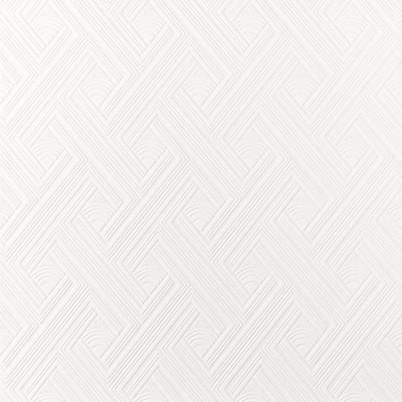 wallpaper in white with a vinyl finish by superfresco the b q 800x800