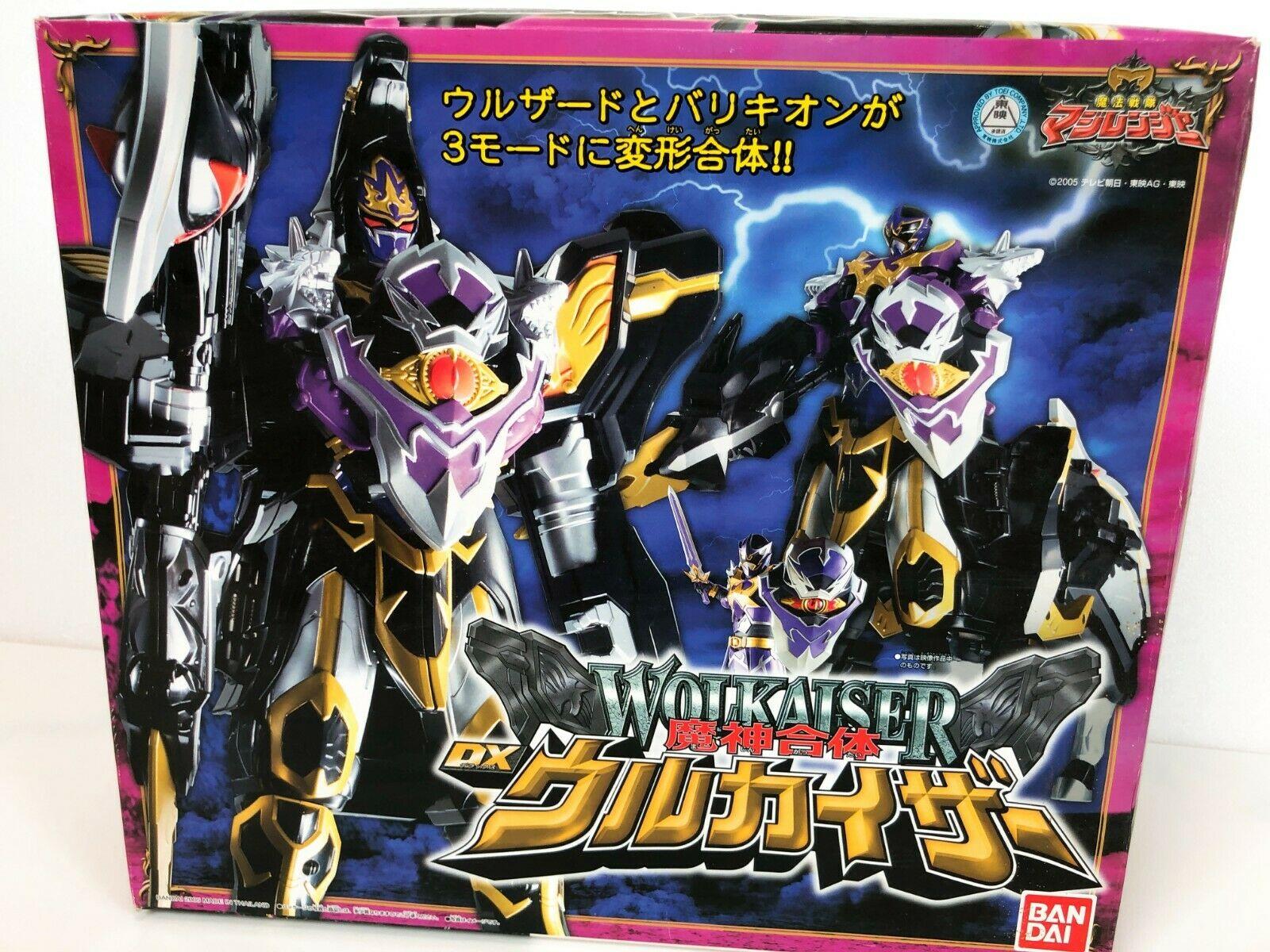 Power Rangers Mystic Force Magiranger Wolf King Wolkaiser Megazord 1600x1200