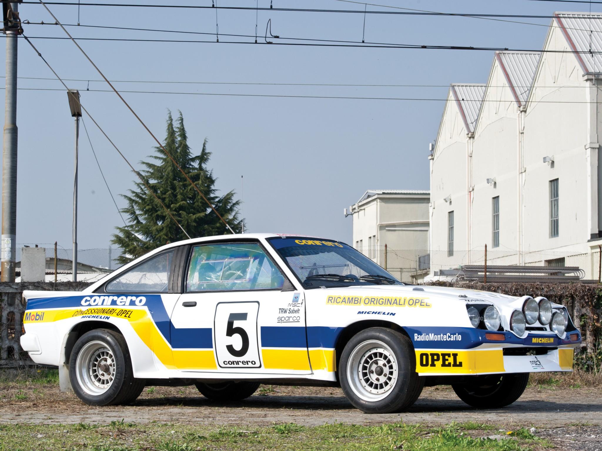 1981 Opel Manta 400 Group B Rally race racing wallpaper background 2048x1536
