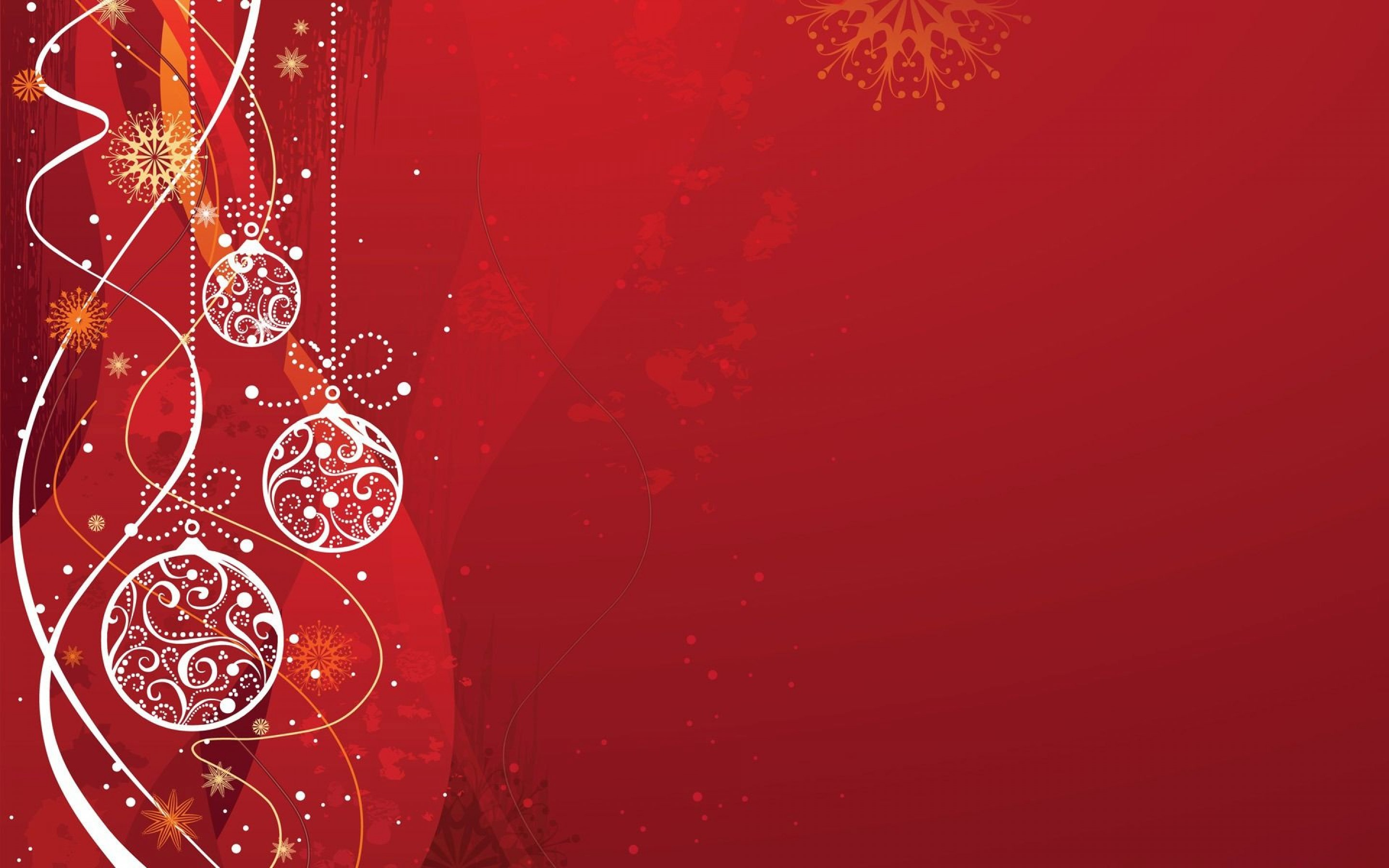 HD Red Christmas Backgrounds Full HD Pictures 2880x1800