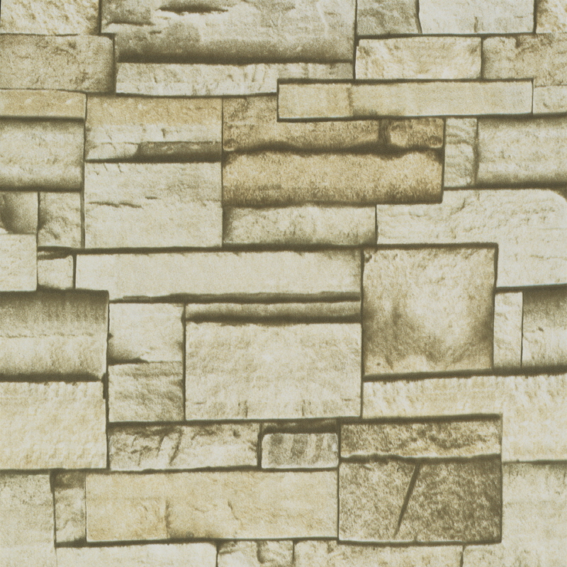 Contact Paper Self Adhesive Wallpaper roll 90m P094 stone brick beige 800x800