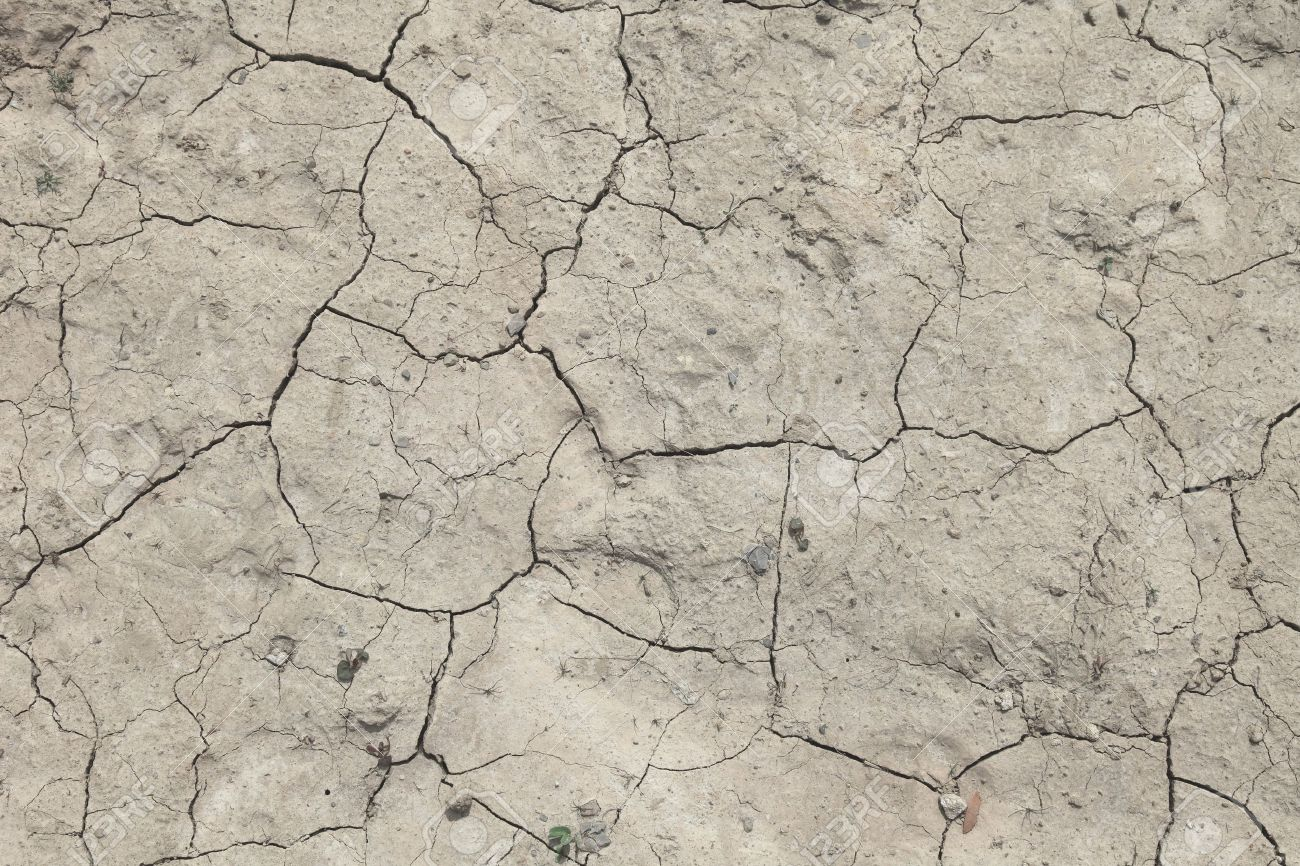 Background Texture Of A Flawed Dried Out Ground Stock Photo 1300x866