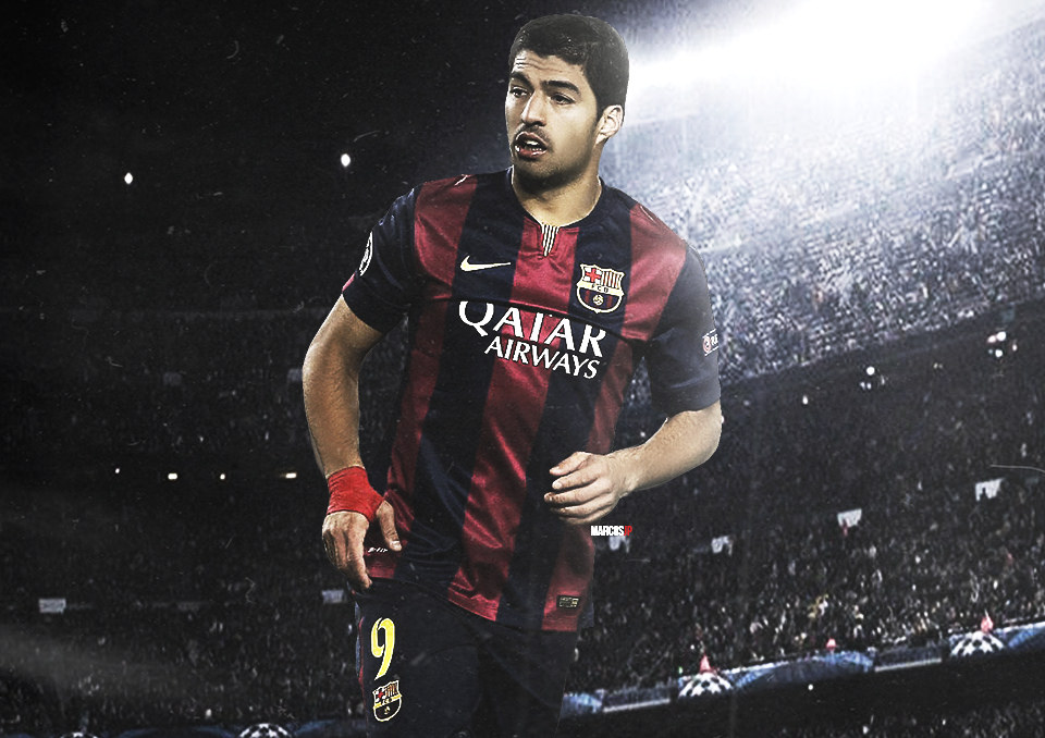 Luis Suarez Wallpaper by MarcosJP 960x678