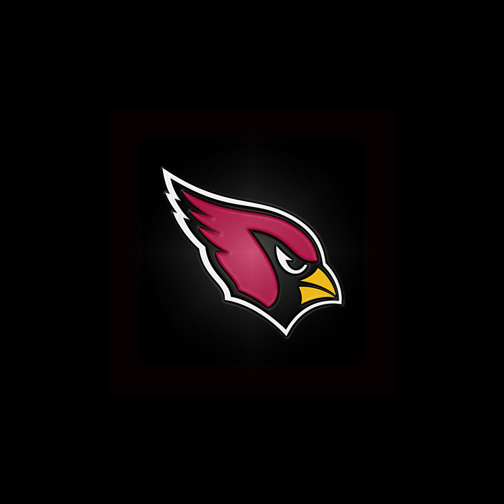 Arizona Cardinals Team Logo iPad Wallpapers Digital Citizen 1024x1024