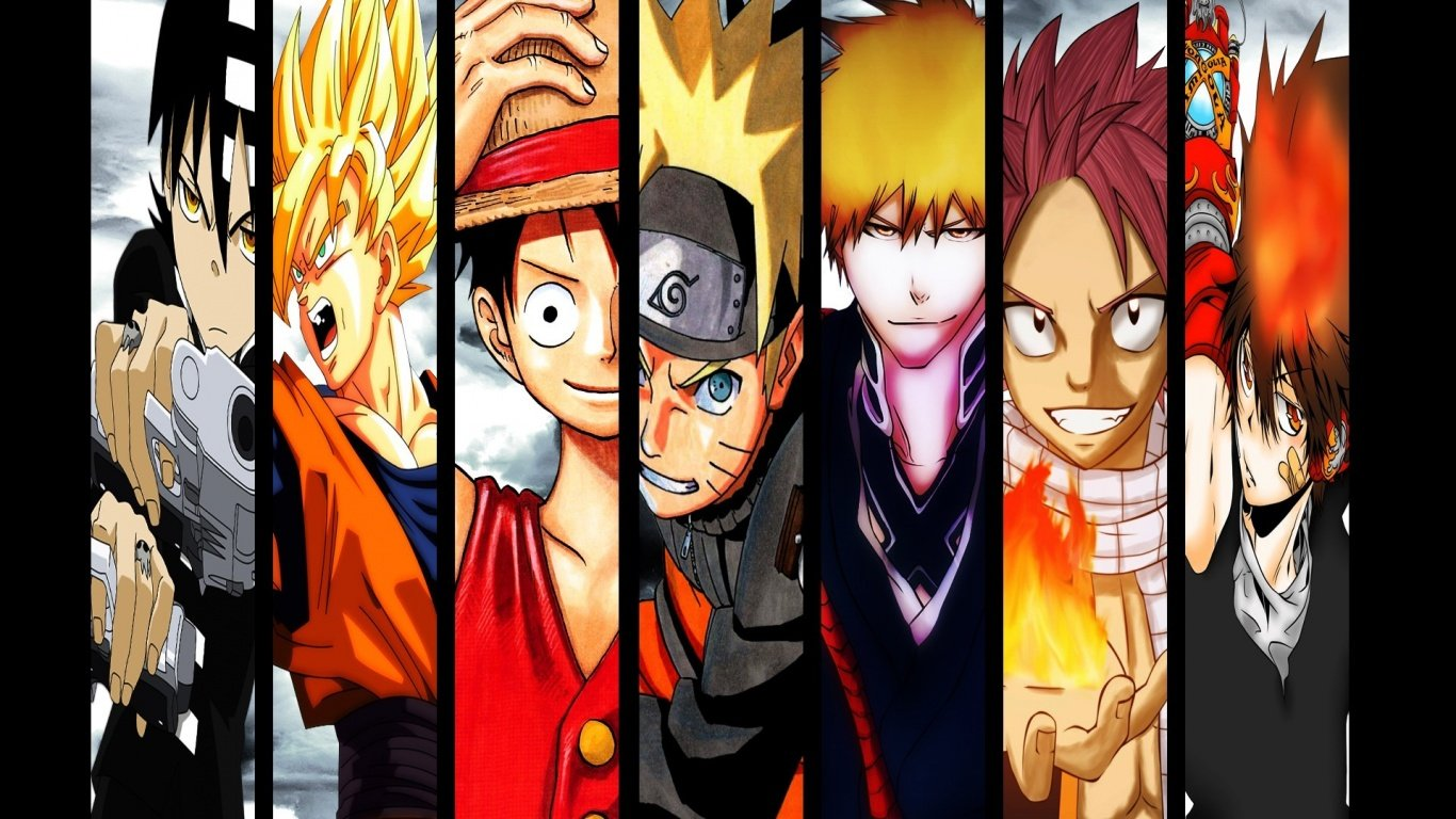 All anime characters hd wallpaper wallpapersafari - Anime character wallpaper ...