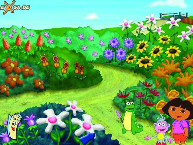 Isa garden Screenshot Wallpaper for Dora the Explorer 640x480