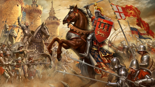 video games england knights france horses medieval 1920x1080 wallpaper 600x337