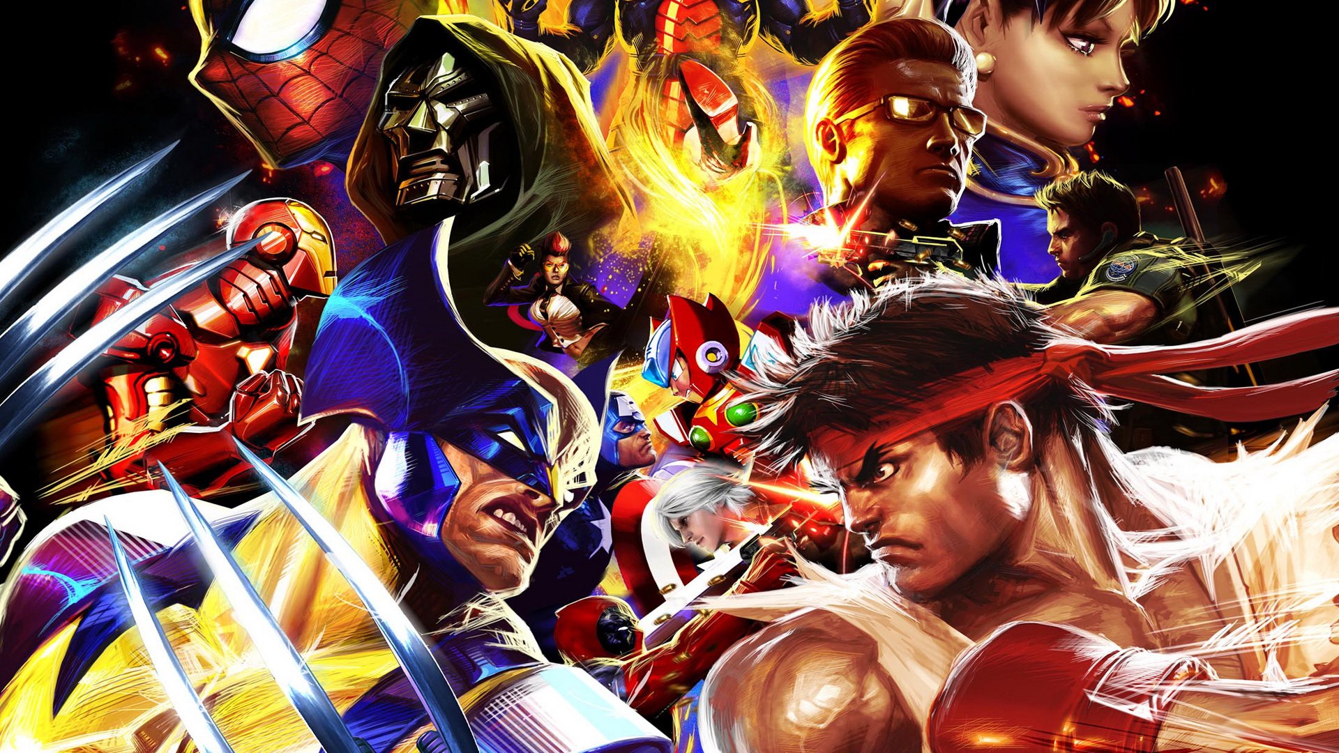 Game HD Wallpapers Playstation 3 Wallpapers Video Games marvel vs 1920x1080