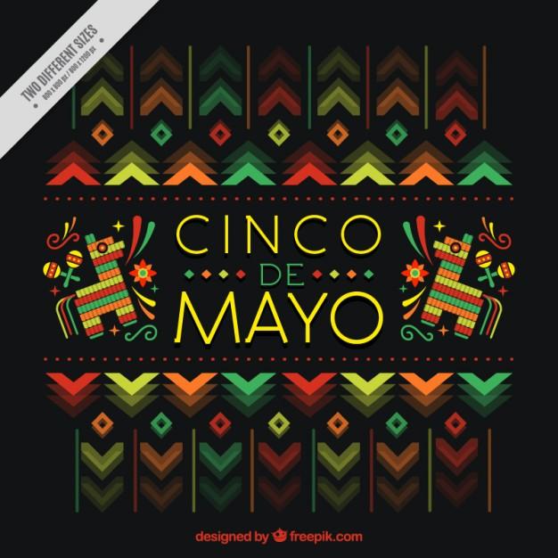 Beautiful cinco de mayo background Vector Download 626x626