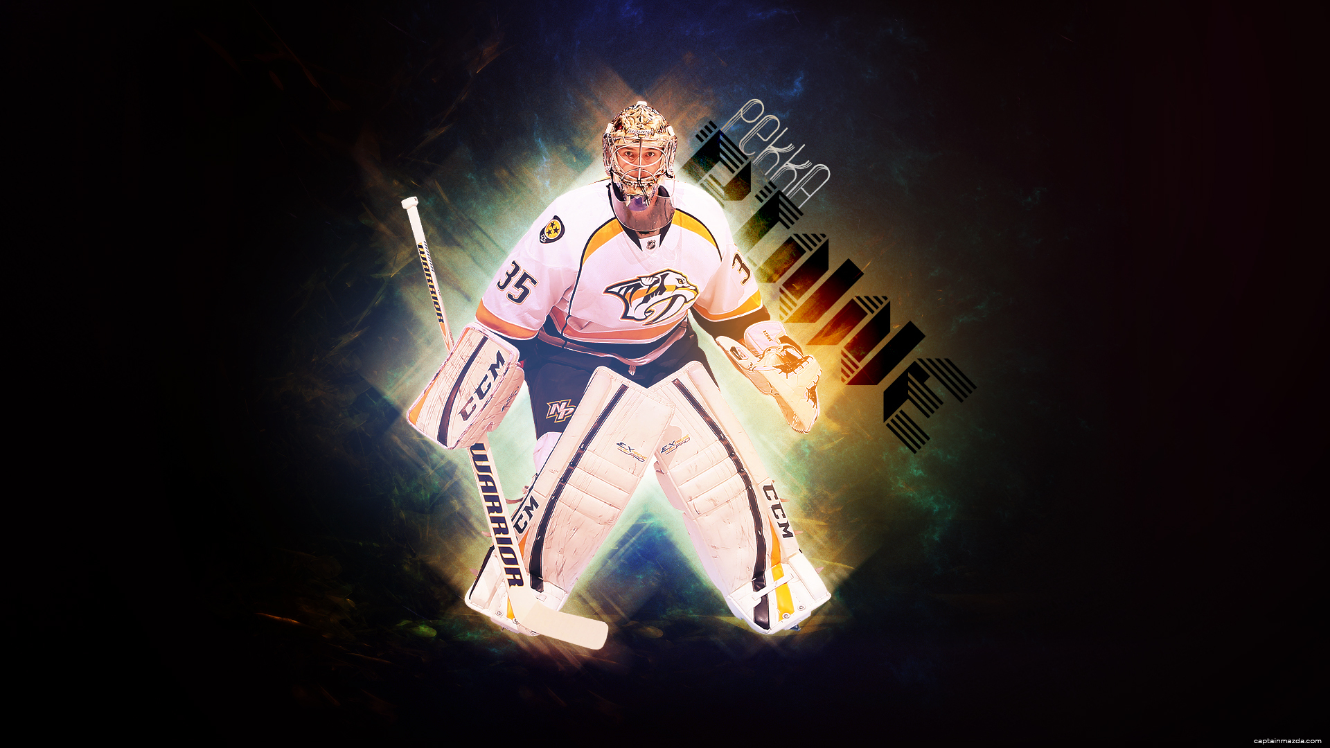 Player of Nashville Pekka Rinne wallpapers and images   wallpapers 1920x1080