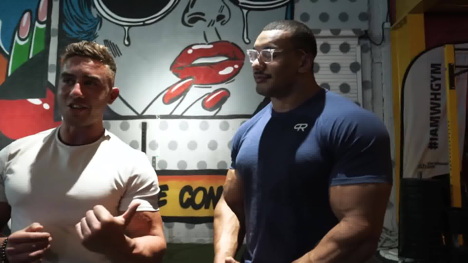 Zac Perna   Strongman Workout with Larry Wheels Perna Bros in 1920x1080