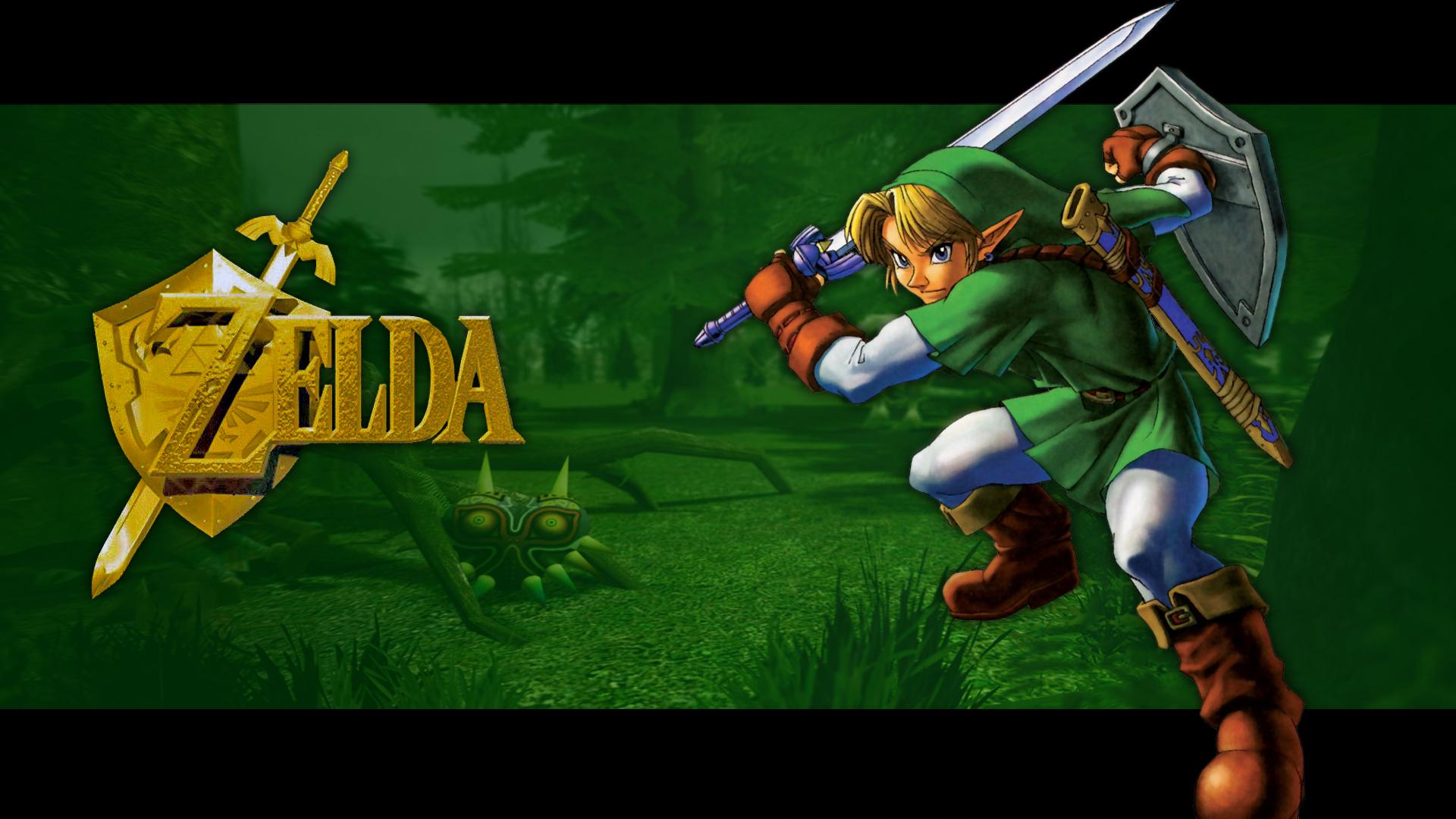Free Download Games Wallpapers Link Legend Of Zelda 1920x1080