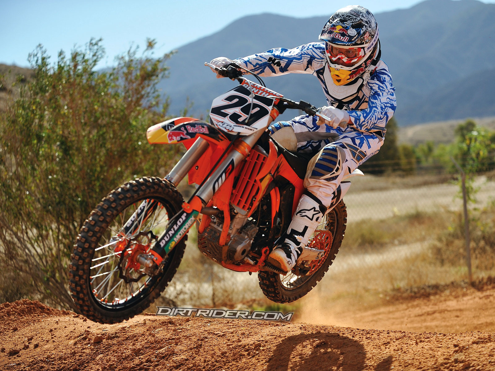 Ktm Dirt Bike Wallpaper   wallpaper 1600x1200