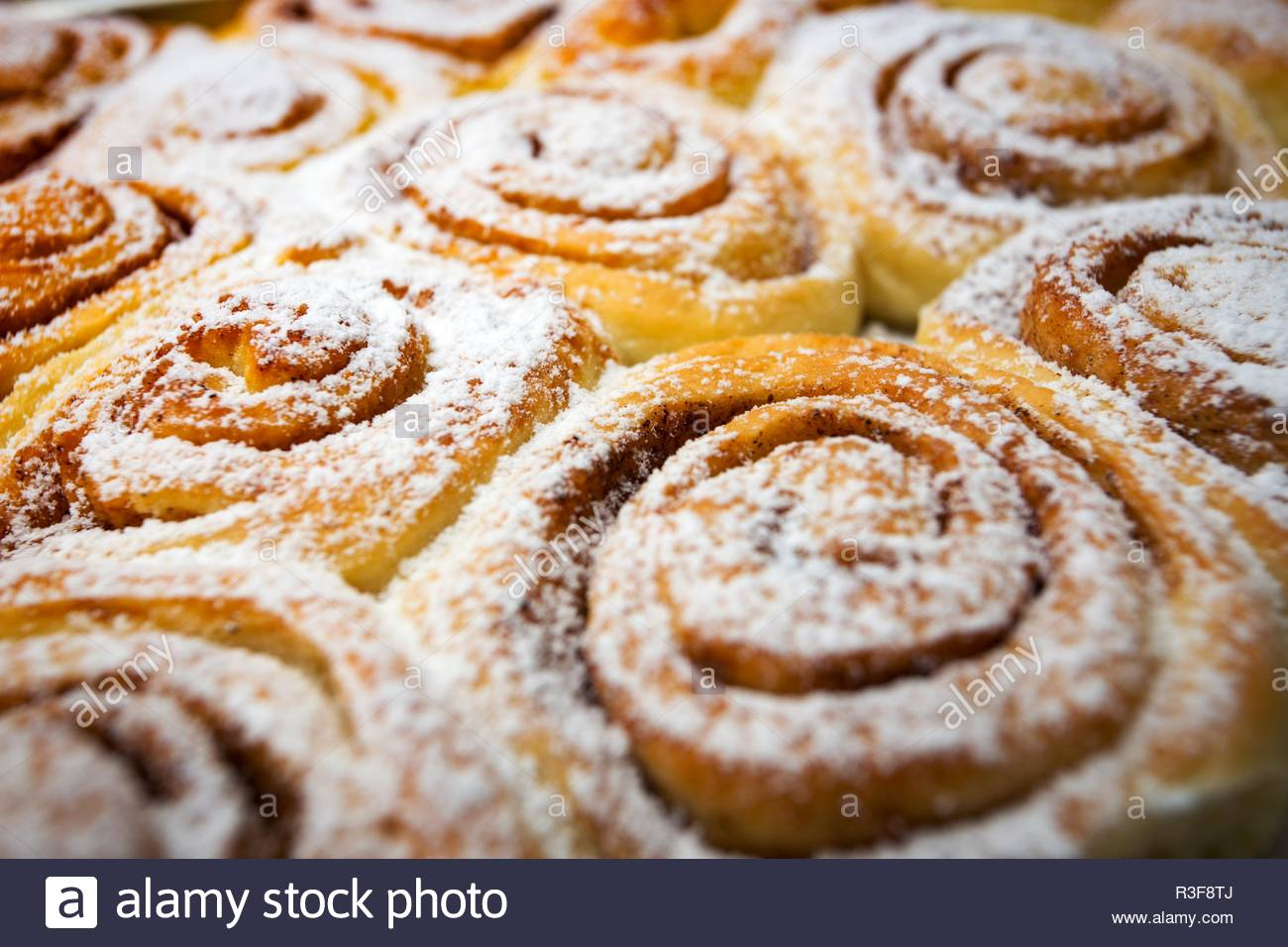 background of delicious fresh buns Cinnabon Stock Photo 225914994 1300x956