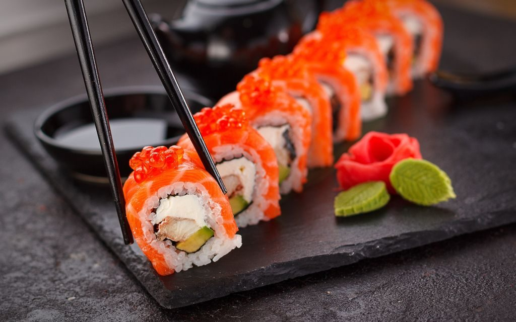 Sushi Wallpaper HD   LovelyTab 1024x640