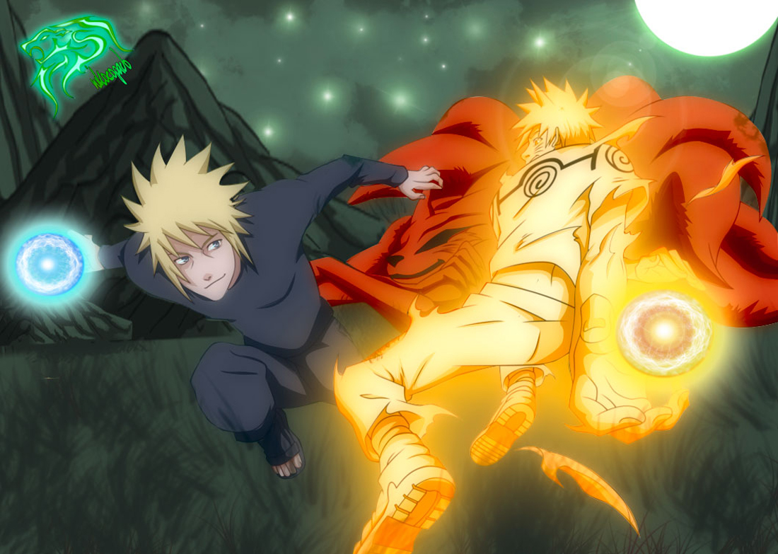 48 Naruto And Minato Wallpaper On Wallpapersafari