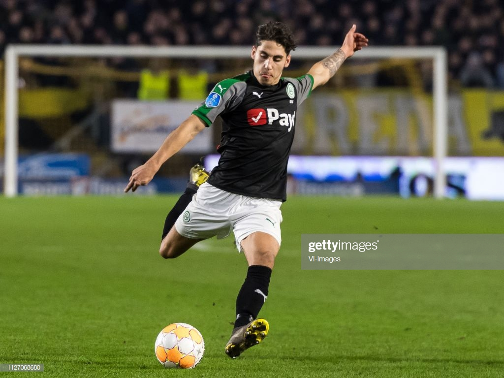 Ludovit Reis of FC Groningen during the Dutch Eredivisie match 1024x768