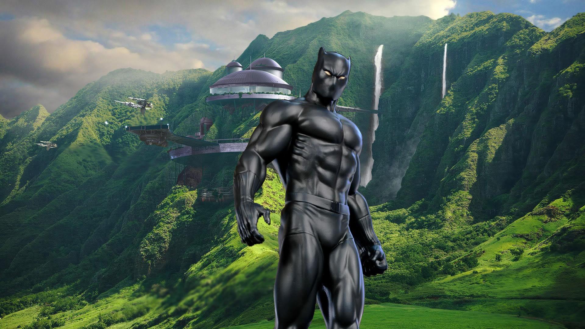 Download 2017 Black Panther Desktop Background HD Wallpaper Search 1920x1080