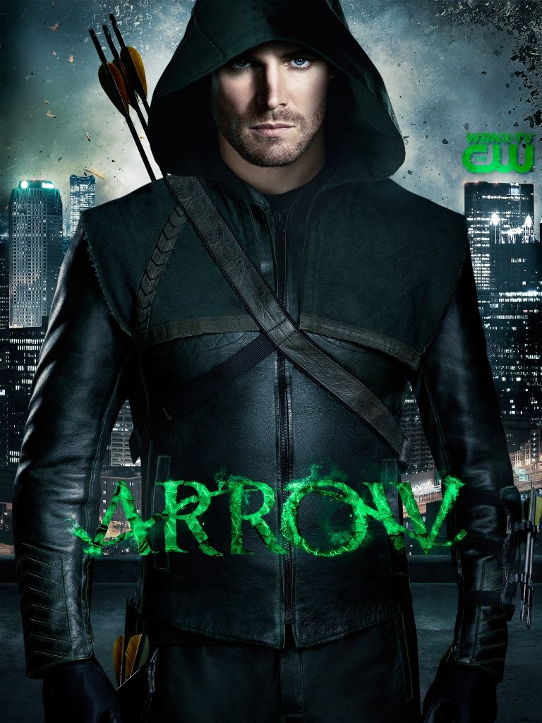 Cw Arrow Wallpaper Green arrow 768x1024