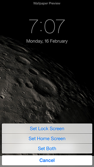 home screen or set both to set the wallpaper on both the lock screen 320x569