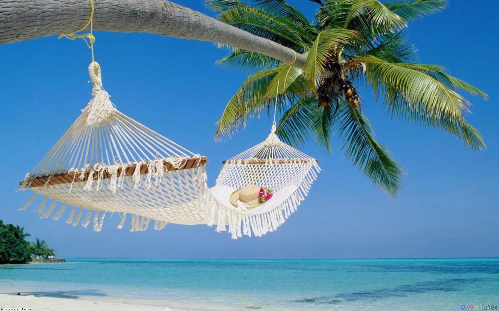 Summer Beach Scenes Desktop Wallpaper 1920x1200