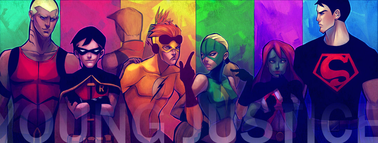 young justice wallpaper wallpapersafari
