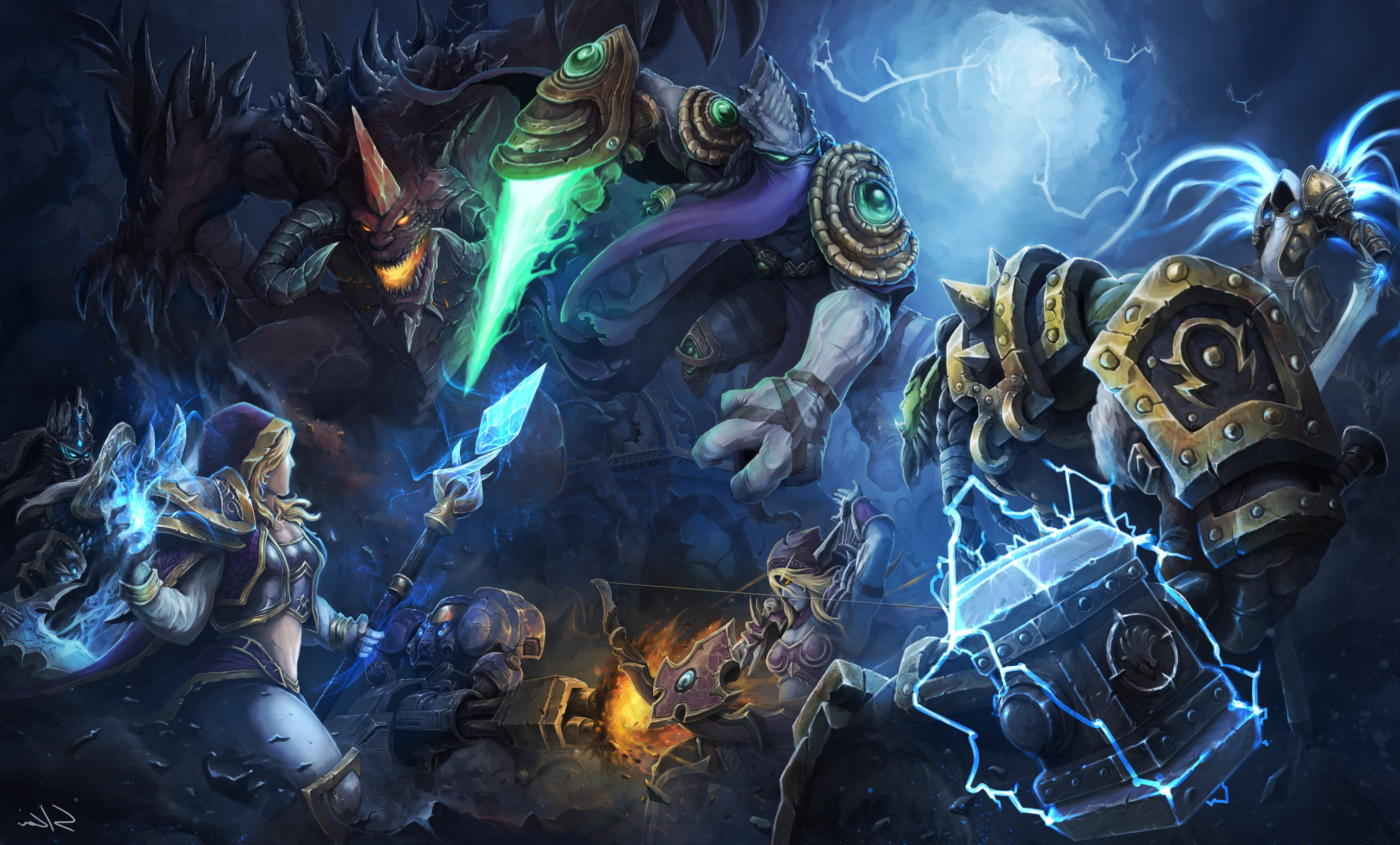 Heroes Blizzard Entertainment Wallpapers 38 Heroes 4294x2592
