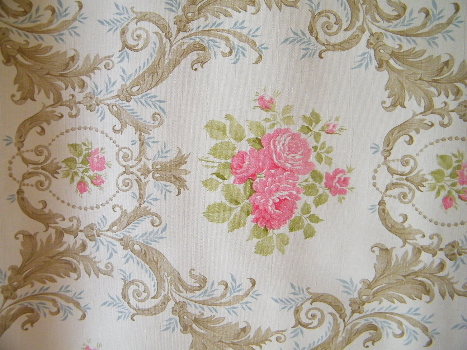 Shabby Chic Wallpaper Wallpapersafari
