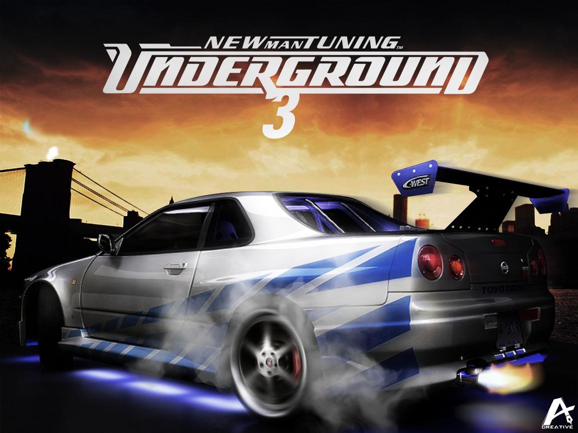 Need For Speed Underground 3 Wallpaper by natacartiel 1152x864
