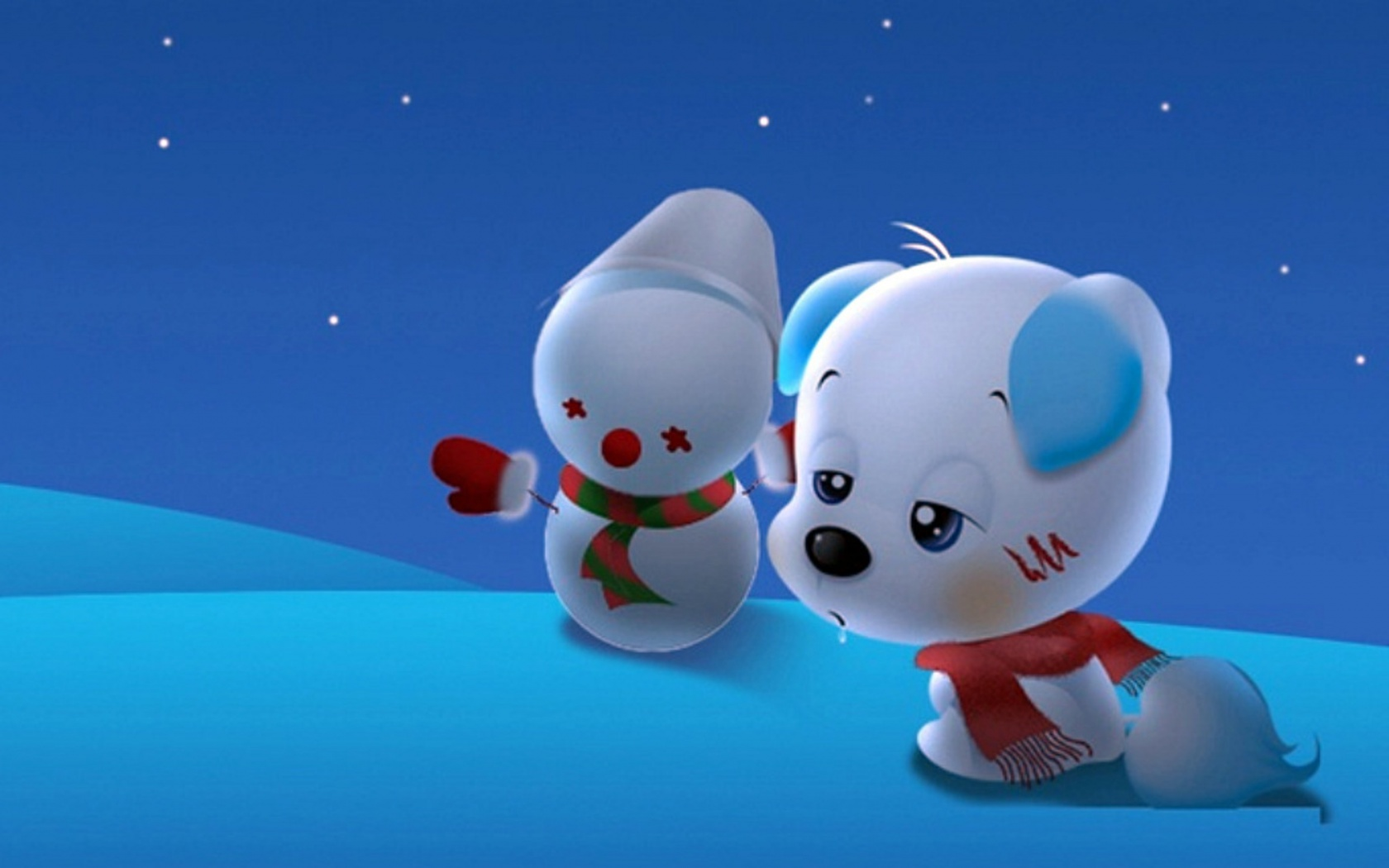 All Latest Wallpapers Cute Cartoon Puppy Wallpapers 1680x1050