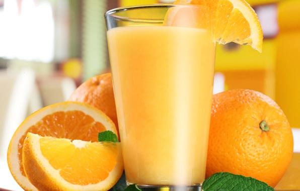 Wallpaper orange juice orange mint cloves wallpapers food 596x380