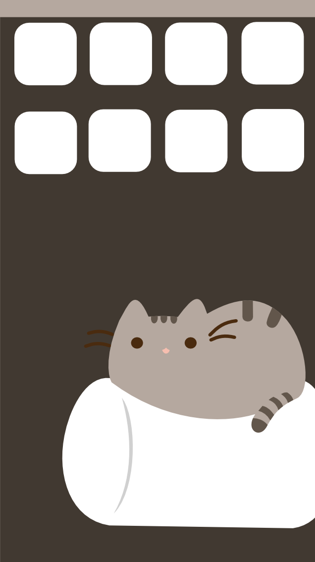 pusheen cat desktop wallpaper architecture modern idea
