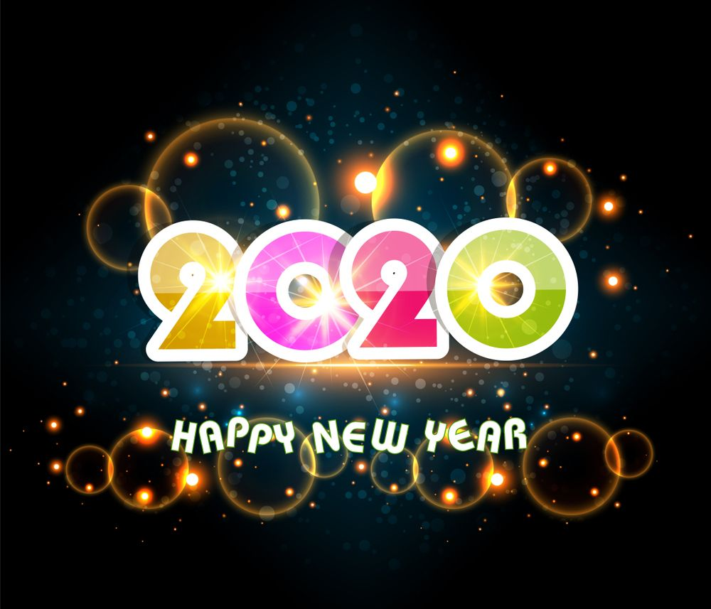 Happy New Year 2020 Wallpapers   Top Happy New Year 2020 1000x857