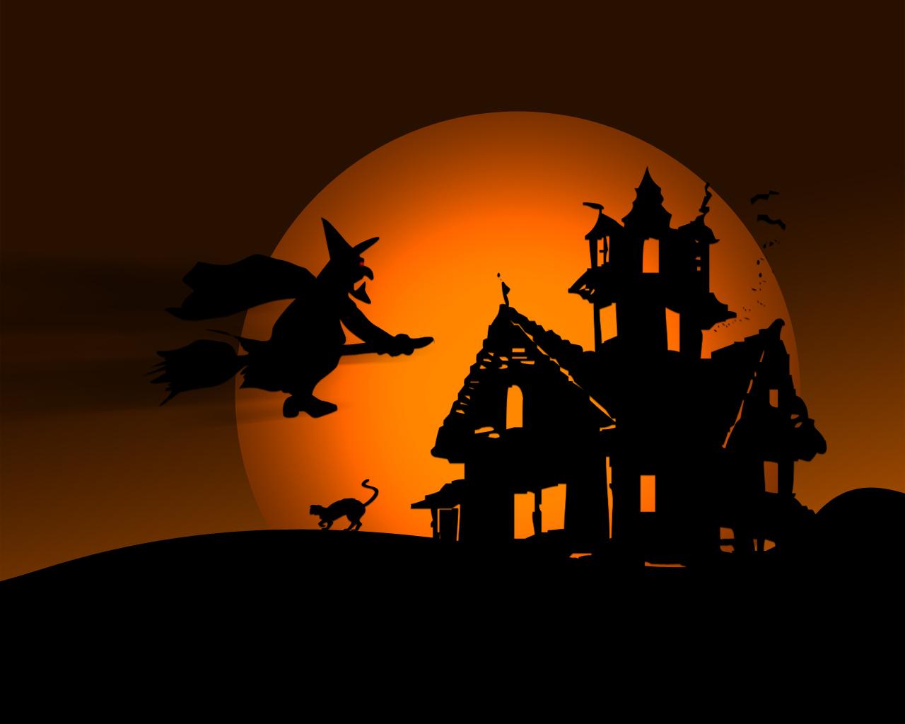 Halloween desktop wallpaper Costumes 1280x1024