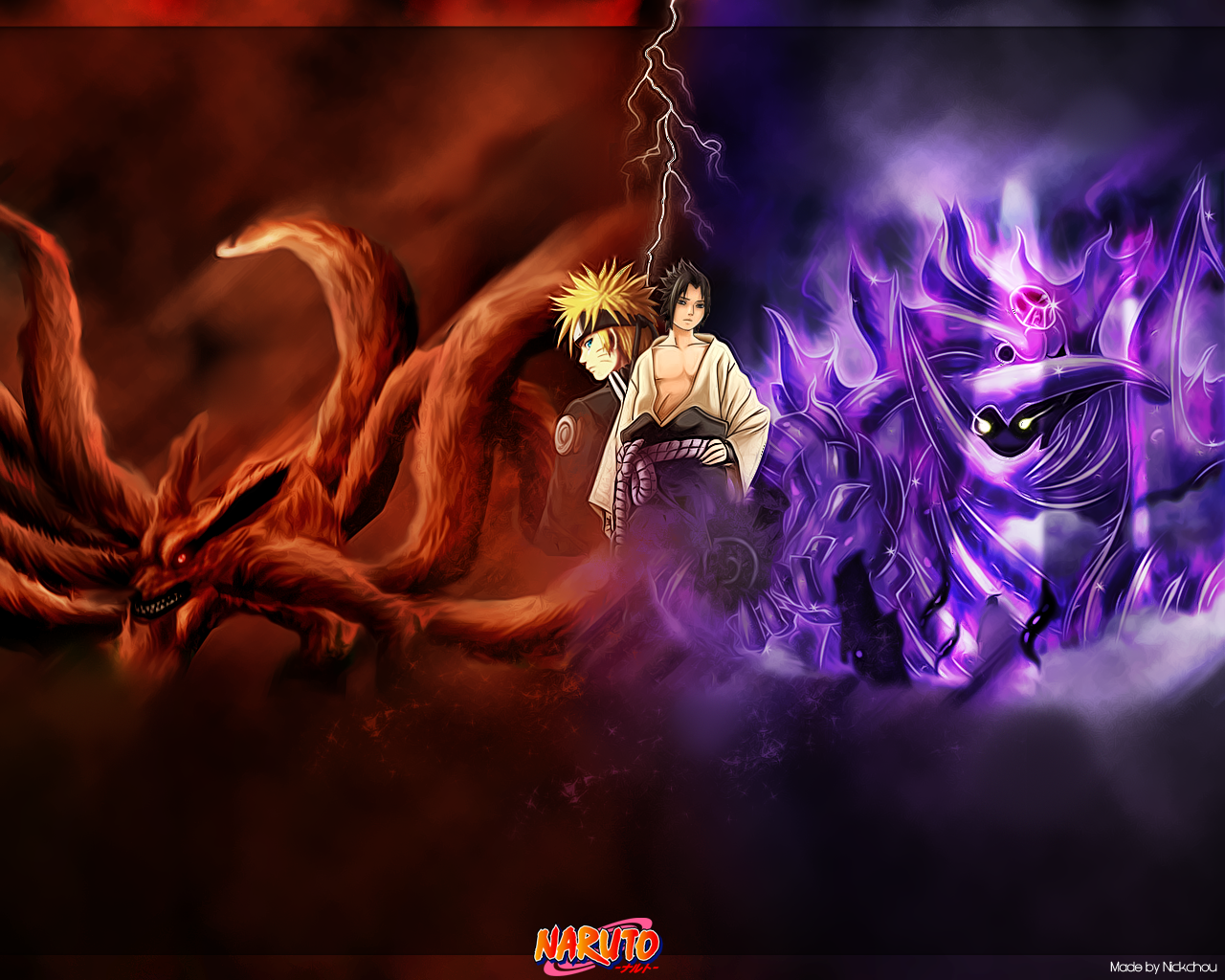 Naruto wallpaper by NickchouBG on deviantART 1280x1024