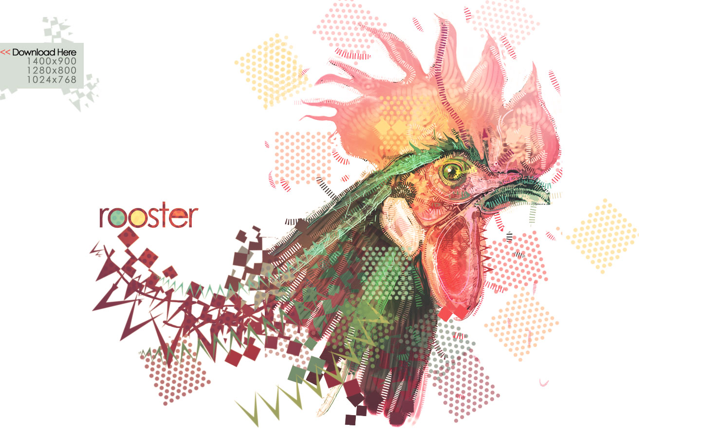 rooster wallpaper by metalsan customization wallpaper animals plants 1440x900