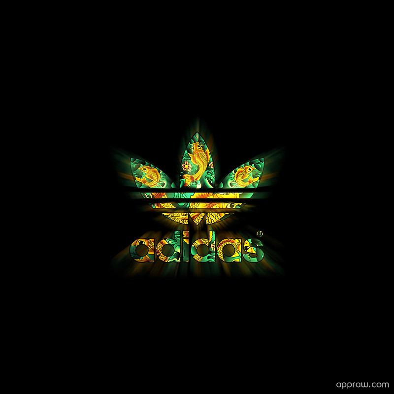 Adidas Logo Wallpaper download   Adidas HD Wallpaper   Appraw 800x800