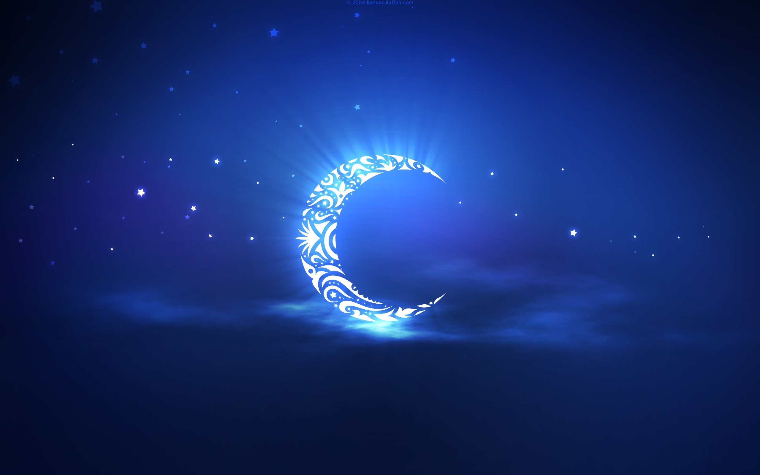 crescent moon cool wallpapers share this cool wallpaper on facebook 2560x1600